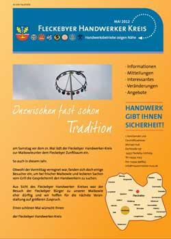 Magazin-Fleckebyer Handwerkerkreis-Titel-2012