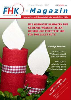 Titelseite Magazin Fleckender Handwerkerkreis