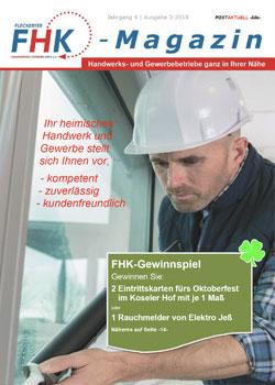 FHK Magazin-Titel Ausgabe 3-18